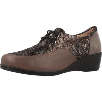 Schoenen Dames Derby Argenta 30251 Bruin