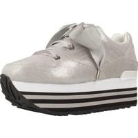 Schoenen Dames Lage sneakers Apepazza 83013 Zilver