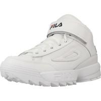 Schoenen Dames Hoge sneakers Fila D2 DISRUPTOR MID Wit