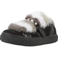 Schoenen Meisjes Lage sneakers Lulu SILUANA Zwart
