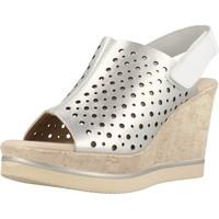 Schoenen Dames Sandalen / Open schoenen Carmela 66165C Zilver