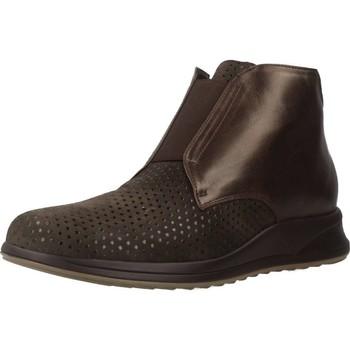 Schoenen Dames Laarzen Mateo Miquel 3450 2 Bruin