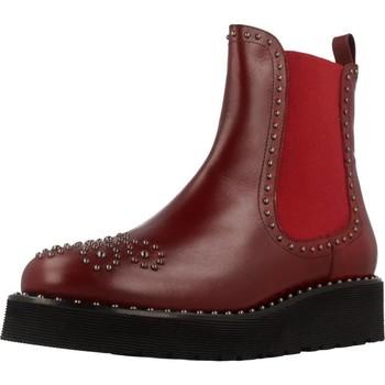 Schoenen Dames Laarzen Pon´s Quintana 7154 R04 Rood