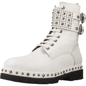 Schoenen Dames Laarzen Pon´s Quintana 7190 008 Wit