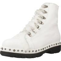 Schoenen Dames Laarzen Pon´s Quintana 7191 008 Wit