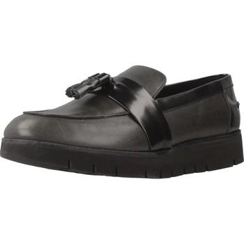 Schoenen Dames Mocassins Geox D BLENDA Grijs