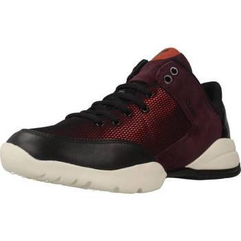 Schoenen Dames Lage sneakers Geox D SFINGE Rood