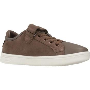 Schoenen Meisjes Lage sneakers Geox J DJROCK GIRL Bruin