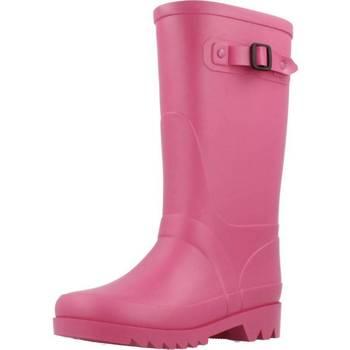 Schoenen Meisjes Regenlaarzen Igor W10115 Roze