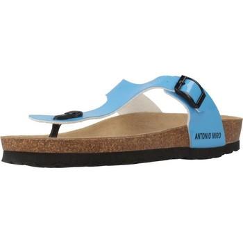 Schoenen Dames Teenslippers Antonio Miro 316602 Blauw