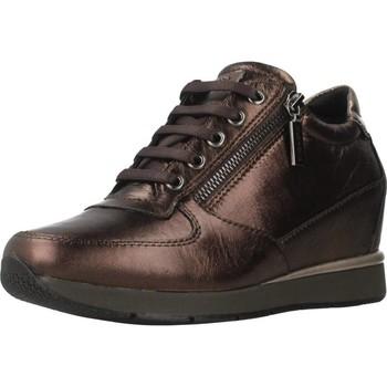 Schoenen Dames Hoge sneakers Stonefly JACKIE 3 LAMINAT Bruin