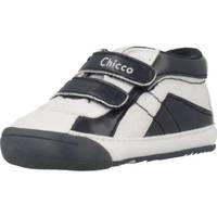 Schoenen Meisjes Hoge sneakers Chicco NEMIX Blauw