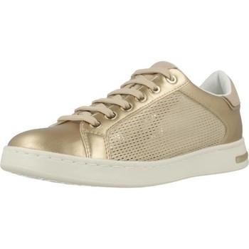 Schoenen Dames Lage sneakers Geox D JAYSEN A Goud