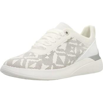 Schoenen Dames Lage sneakers Geox D THERAGON Wit