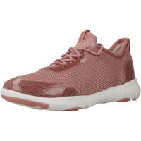 Schoenen Dames Lage sneakers Geox D NEBULA X Roze