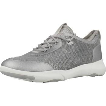Schoenen Dames Lage sneakers Geox D NEBULA X Zilver