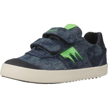 Schoenen Jongens Lage sneakers Geox B KILWI BOY Blauw