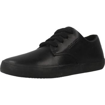 Schoenen Jongens Lage sneakers Geox J KILWI B. G Zwart