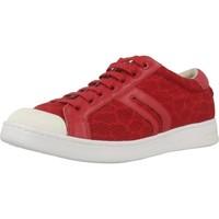 Schoenen Dames Lage sneakers Geox D JAYSEN Rood