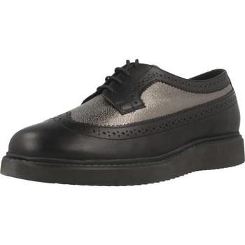 Schoenen Dames Derby Geox D THYMAR E Zwart