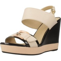 Schoenen Dames Sandalen / Open schoenen Geox D JANIRA E Beige