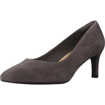 Schoenen Dames pumps Clarks 26136048 Grijs