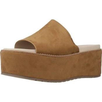 Schoenen Dames Leren slippers Coolway CELIA 19 Bruin