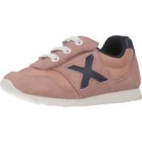 Schoenen Meisjes Lage sneakers Munich Fashion 1700019 Roze