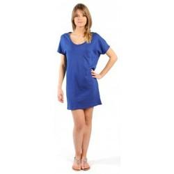 Textiel Dames Korte jurken American Vintage ROBE CI88E11 INDIGO Blauw