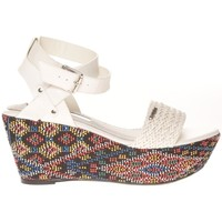Schoenen Dames Sandalen / Open schoenen Cassis Côte d'Azur Sandales Amalia Blanc Wit