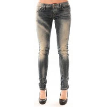 Textiel Dames Skinny jeans Meltin'pot Jean D1480/BD398 Bleu délavé Blauw
