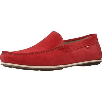 Schoenen Heren Mocassins Fluchos F0424 Rood