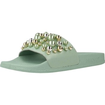 Schoenen Dames Leren slippers Inuovo 125007I Groen