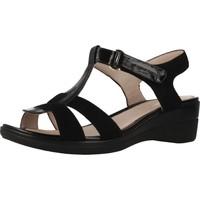 Schoenen Dames Sandalen / Open schoenen Stonefly 210847 Zwart