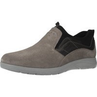 Schoenen Heren Instappers Stonefly SPACE UP 1 BIS VEL. Grijs