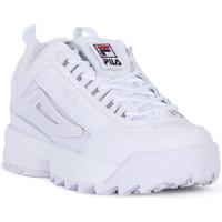 Schoenen Heren Lage sneakers Fila DISRUPTOR LOW PATCHES Bianco