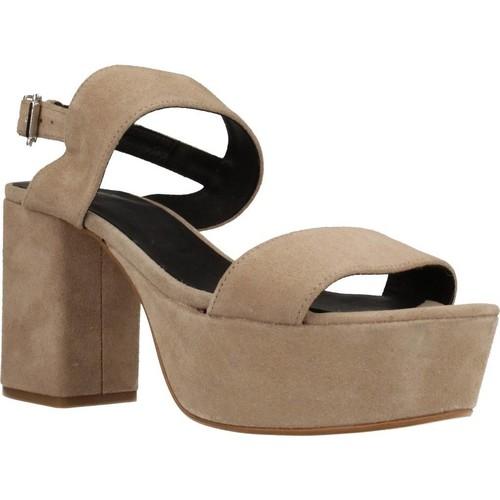 Schoenen Dames Sandalen / Open schoenen Angel Alarcon 17596 286 Beige