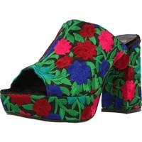 Schoenen Dames Leren slippers Lab 72477 Veelkleurig
