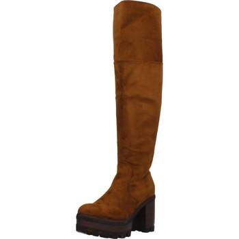 Schoenen Dames Hoge laarzen Different 8138 Bruin
