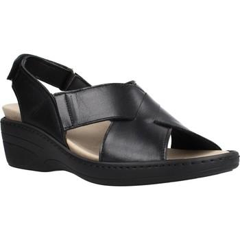 Schoenen Dames Sandalen / Open schoenen Pinoso's 70910 Zwart