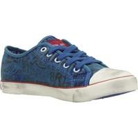 Schoenen Jongens Lage sneakers Replay JV080099T Blauw