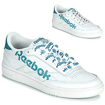 Schoenen Dames Lage sneakers Reebok Classic CLUB C 86 Wit / Blauw