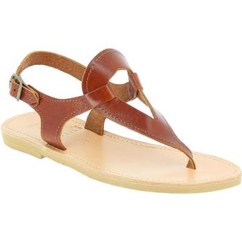 Schoenen Dames Sandalen / Open schoenen Attica Sandals ARTEMIS CALF DK-BROWN marrone