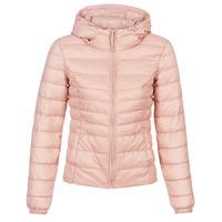 Textiel Dames Dons gevoerde jassen Only ONLTAHOE Roze