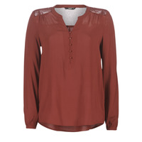 Textiel Dames Tops / Blousjes Only ONLEDDIE Bordeau