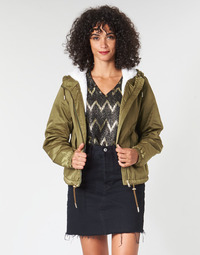 Textiel Dames Wind jackets Only ONLNEWCALLY Kaki