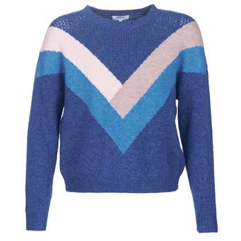 Textiel Dames Truien Only ONLFCORA Blauw