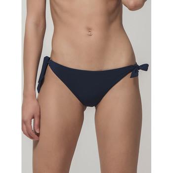 Textiel Dames Bikinibroekjes- en tops Luna Blue Sense  Splendida Tie Side Bikini Briefs Blauw
