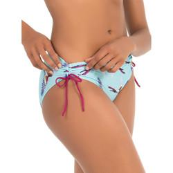 Textiel Dames Bikinibroekjes- en tops Selmark Zwempakkousen Pajaros  Mare turquoise Blauw Turquoise