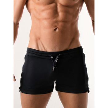 Textiel Heren Korte broeken / Bermuda's Code 22 Shorty sport Quick Dry Code22 marine Blauw Marine